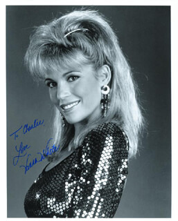 VANNA WHITE - AUTOGRAPHED INSCRIBED PHOTOGRAPH