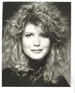 FAWN HALL - AUTOGRAPHED SIGNED PHOTOGRAPH