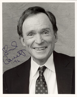 DICK CAVETT - AUTOGRAPHED SIGNED PHOTOGRAPH 1992