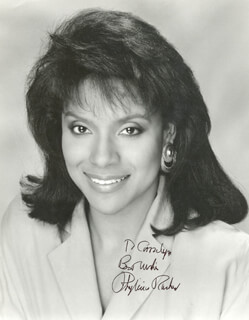 PHYLICIA RASHAD - AUTOGRAPHED INSCRIBED PHOTOGRAPH