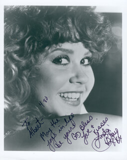 LINDA BLAIR - AUTOGRAPHED INSCRIBED PHOTOGRAPH 4/1980