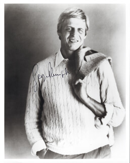 GEORGE PLIMPTON - AUTOGRAPHED SIGNED PHOTOGRAPH