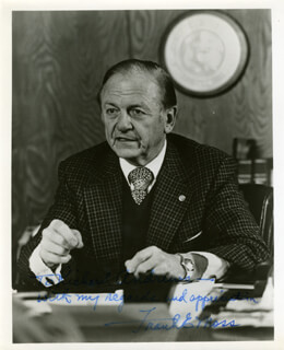 FRANK E. MOSS - AUTOGRAPHED INSCRIBED PHOTOGRAPH