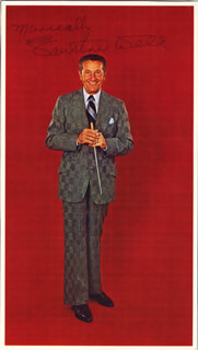 LAWRENCE WELK - MAGAZINE PHOTOGRAPH SIGNED