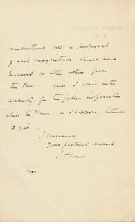 JAMES ANTHONY FROUDE - AUTOGRAPH LETTER SIGNED 6/11
