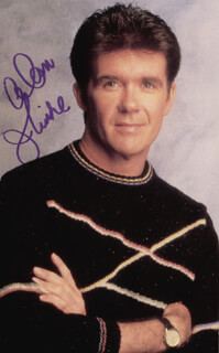 ALAN THICKE - AUTOGRAPHED SIGNED PHOTOGRAPH