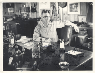 ERLE STANLEY GARDNER - AUTOGRAPHED INSCRIBED PHOTOGRAPH