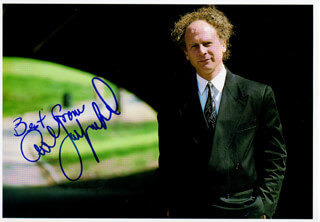 ART GARFUNKEL - AUTOGRAPHED SIGNED PHOTOGRAPH