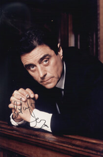 IAN McSHANE - AUTOGRAPHED SIGNED PHOTOGRAPH
