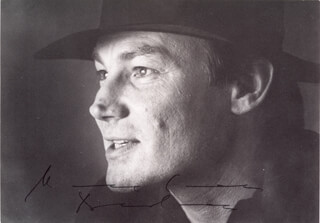 KLAUS MARIA BRANDAUER - PICTURE POST CARD SIGNED