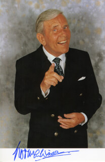 NORMAN WISDOM - AUTOGRAPHED SIGNED PHOTOGRAPH