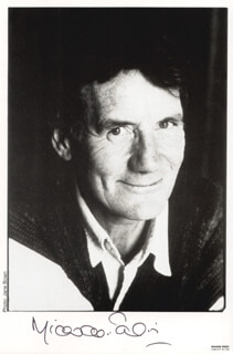 MICHAEL PALIN - AUTOGRAPHED SIGNED PHOTOGRAPH
