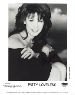 PATTY LOVELESS - AUTOGRAPHED SIGNED PHOTOGRAPH