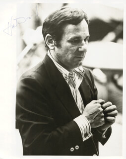 HAL DAVID - AUTOGRAPHED SIGNED PHOTOGRAPH