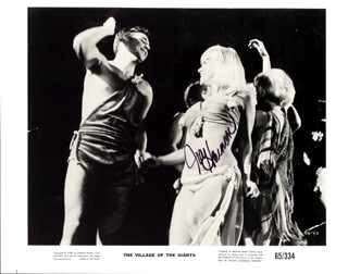 JOY HARMON - PRINTED PHOTOGRAPH SIGNED IN INK