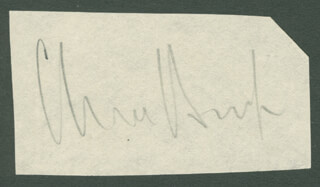 Autographs: CLIVE BROOK - CLIPPED SIGNATURE