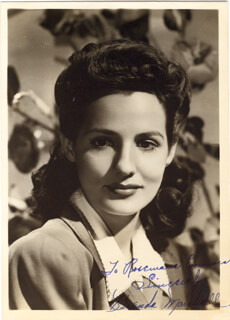 BRENDA MARSHALL - AUTOGRAPHED INSCRIBED PHOTOGRAPH