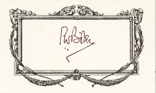 PRESIDENT PIETER W. BOTHA (SOUTH AFRICA) - AUTOGRAPH  - HFSID 224254