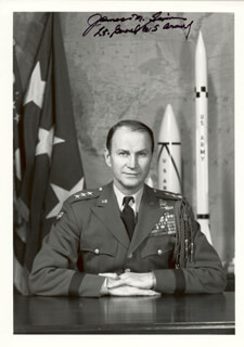 LT. GENERAL JAMES M. GAVIN - AUTOGRAPHED SIGNED PHOTOGRAPH