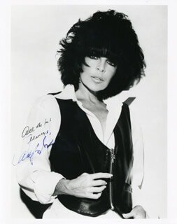 CAROLE BAYER SAGER - AUTOGRAPHED SIGNED PHOTOGRAPH