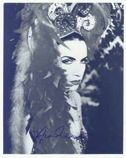 THE EURYTHMICS (ANNIE LENNOX) - AUTOGRAPHED SIGNED PHOTOGRAPH