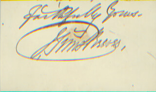 JOHN SIMS REEVES - AUTOGRAPH SENTIMENT SIGNED