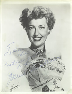 JEANETTE MacDONALD - AUTOGRAPHED INSCRIBED PHOTOGRAPH
