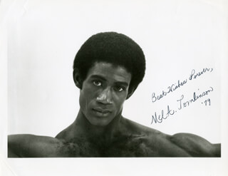 MEL A. TOMLINSON - AUTOGRAPHED SIGNED PHOTOGRAPH 1979