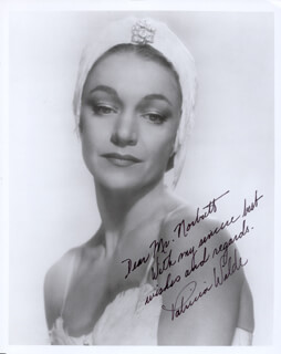 PATRICIA WILDE - AUTOGRAPHED INSCRIBED PHOTOGRAPH