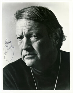 JAMES DICKEY - AUTOGRAPHED SIGNED PHOTOGRAPH