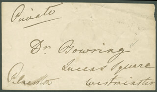 Prime Minister Henry John Temple  (great Britain) Autographs 224733