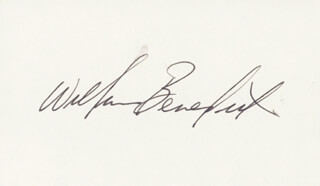 WILLIAM BILLY BENEDICT - AUTOGRAPH