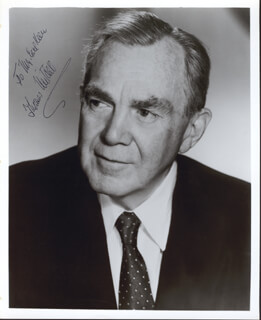 THOMAS MITCHELL - AUTOGRAPHED INSCRIBED PHOTOGRAPH