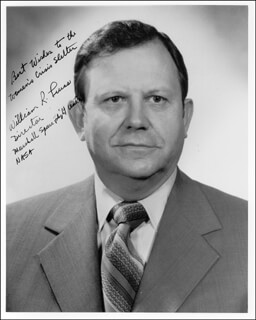 WILLIAM R. LUCAS - AUTOGRAPHED SIGNED PHOTOGRAPH