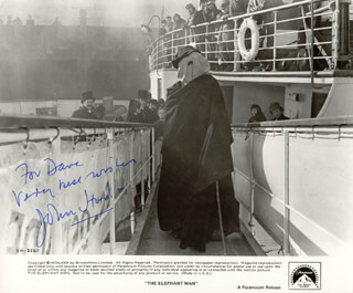 JOHN HURT - AUTOGRAPHED INSCRIBED PHOTOGRAPH