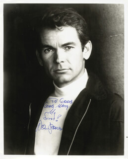 DEAN JONES - AUTOGRAPHED INSCRIBED PHOTOGRAPH