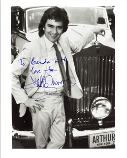 DUDLEY MOORE - AUTOGRAPHED INSCRIBED PHOTOGRAPH