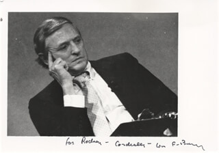 WILLIAM F. BUCKLEY JR. - AUTOGRAPHED INSCRIBED PHOTOGRAPH