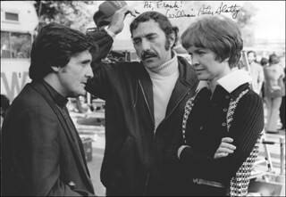 Autographs: WILLIAM PETER BLATTY - INSCRIBED PHOTOGRAPH SIGNED