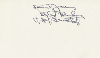 Autographs: GOVERNOR HENRY STYLES BRIDGES - AUTOGRAPH SENTIMENT SIGNED