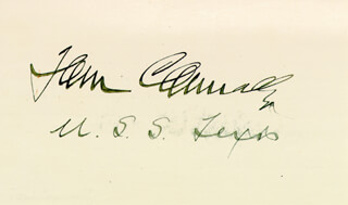 THOMAS T. TOM CONNALLY - AUTOGRAPH