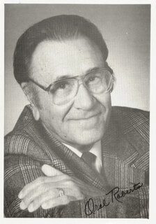 ORAL ROBERTS - AUTOGRAPHED SIGNED PHOTOGRAPH
