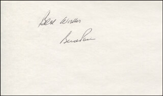 Autographs: BUD (KENNETH REED POOL) POOL - AUTOGRAPH SENTIMENT SIGNED