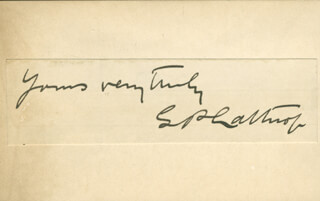 DR. S. P. LATHROP - AUTOGRAPH SENTIMENT SIGNED