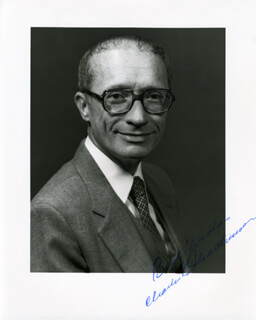 CHARLES E. MARTHINSEN - AUTOGRAPHED SIGNED PHOTOGRAPH