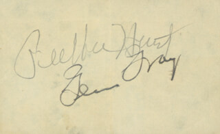 GLEN GRAY - AUTOGRAPH CO-SIGNED BY: PEE WEE HUNT