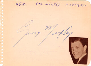 GEORGE MURPHY - AUTOGRAPH CIRCA 1951 CO-SIGNED BY: ELIZABETH DICKINSON