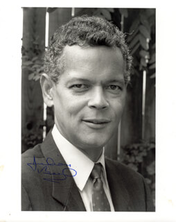 JULIAN BOND - AUTOGRAPHED SIGNED PHOTOGRAPH