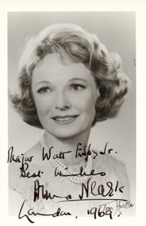 ANNA NEAGLE - AUTOGRAPHED INSCRIBED PHOTOGRAPH 1969