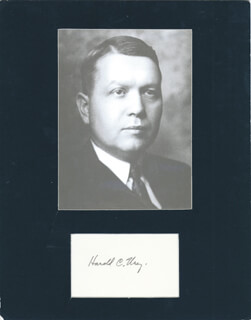 nobel prize won by harold urey for discovery of deuterium